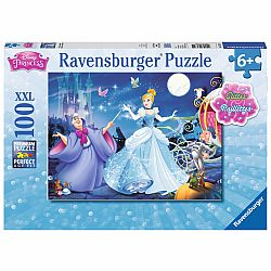 ADORABLE CINDERELLA 100 PC PUZZLE