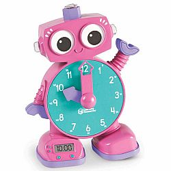 LEARNING CLOCK PINK