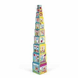 CITY FRIENDS SQUARE STACKING PYRAMID