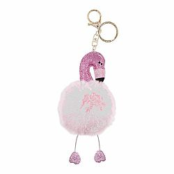 BAG CHARM FLAMINGO