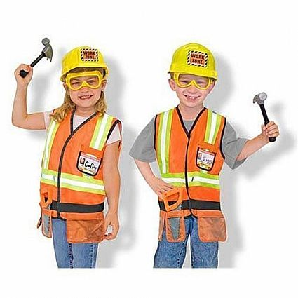 Costume Set - Construction Worker