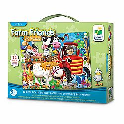 BIG FLOOR PUZZLE- FARM FRIENDS