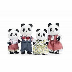 CALICO WILDER PANDA BEAR FAMILY
