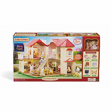 CALICO TOWNHOUSE GIFT SET