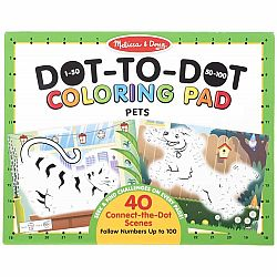 123 DOT TO DOT COLOR PAD PETS