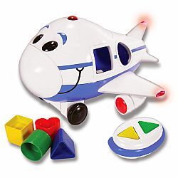 Remote Control Shape Sorter - Jumbo The Jet