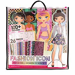 FASHION ICON PAPER DOLL FASION DESIGN KIT