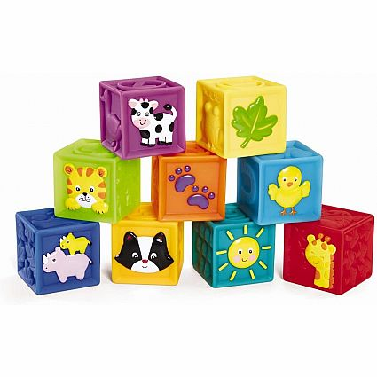 SQUEAK 'N STACK BLOCKS
