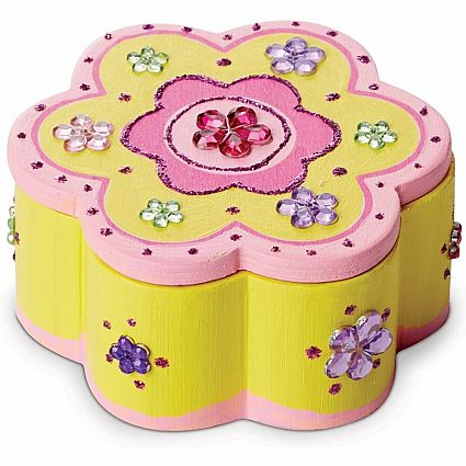 WOODEN CRAFT KIT FLOWER BOX