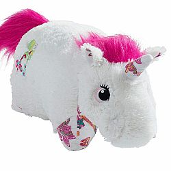 COLORFUL WHITE UNICORN LARGE 18""