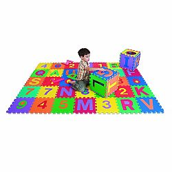EDU TILES LETTERS & NUMBERS 36 PC
