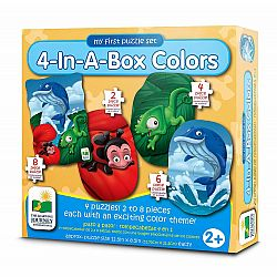 4-In-A-Box Puzzles - Colors