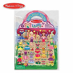 REUSABLE PUFFY STICKER - FAIRY