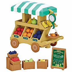FRUIT WAGON CALICO CRITTERS