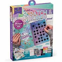 CRAFT TASTIC SCRATCH AND STICKER JOURNAL