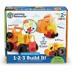 1-2-3- BUILD IT! CONSTRUCTION CREW