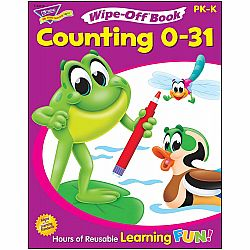 WIPE OFF BOOK COUNTING 0-31