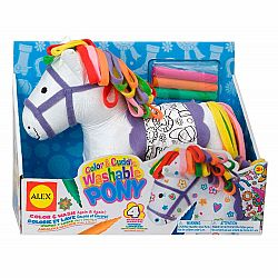 Color & Cuddle Washable Pony