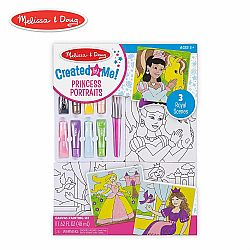 CANVAS PAINTING SET - PRINCESS