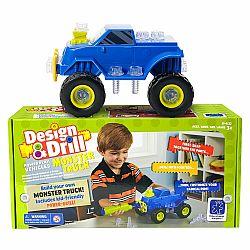 DESIGN & DRILL POWER PLAY MONSTER TRUCK