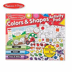 JUMBO COLORS & SHAPES ACTIVITY PAD