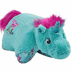 COLORFUL TEAL UNICORN LARGE 18""