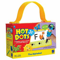 HOT DOTS JR. CARDS THE ALPHABET