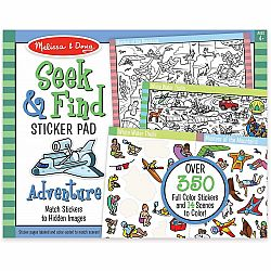 SEEK & FIND STICKER PAD- ADVENTURE