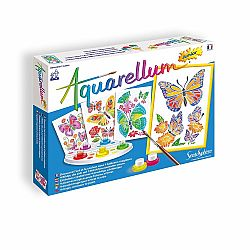Aquarellum Jr Butterflies & Flowers