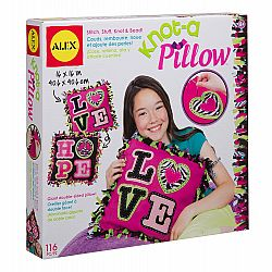 GIANT KNOT & STITCH PILLOW
