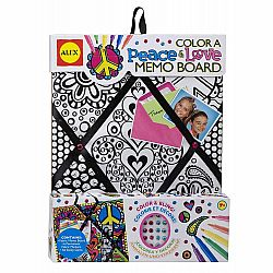 COLOR A MEMO BOARD