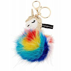 BAG CHARM RAINBOW UNICORN