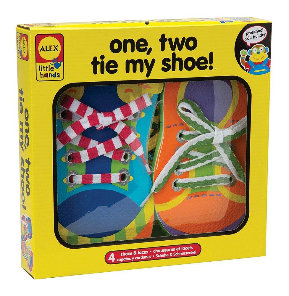 12 tie my shoe