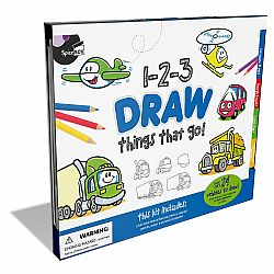 123 DRAW THINGS THAT GO
