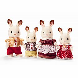 CALICO HOPSCOTCH RABBIT FAMILY