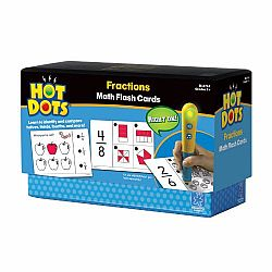 Hot Dots Math Flash Cards Fractions