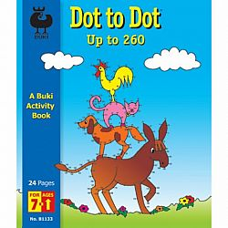 Dot to Dot Buki Book Large