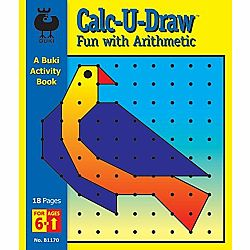 Calc-U-Draw Fun with Arithmetic Buki Book Large