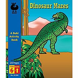 Dino Mazes Buki Book Large