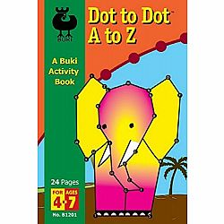Dot to Dot A to Z Buki Book Med