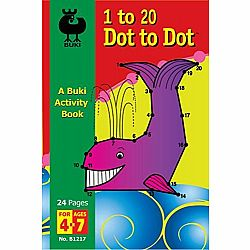 1 to 20 Dot to Dot Buki Book Med