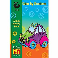 Color By Number Buki Book Med