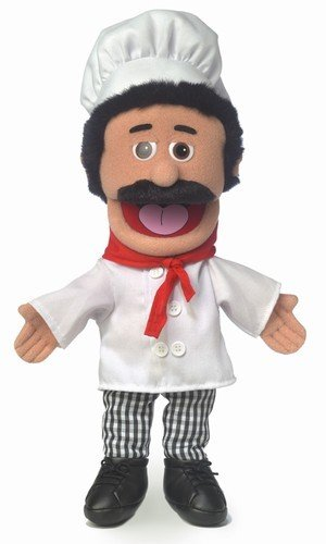 Puppet 14 Quot Chef Luigi Toys 2 Learn
