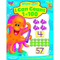 WIPE OFF BOOK I CAN COUNT 1-100