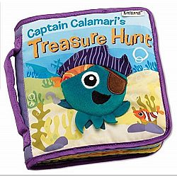 Soft Book Captain Calamaris Treasure Hunt