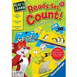 Ready, Set, Count! - Numbers 1 to 10