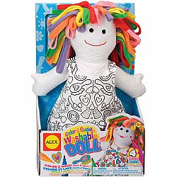 Color & Cuddle Washable Doll