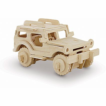 3D PUZZLE - VEHICLE