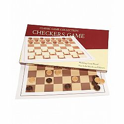 WOOD CHECKER GAME